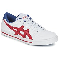 Shoes Low top trainers Asics AARON White / Red