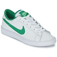 Shoes Boy Low top trainers Nike TENNIS CLASSIC JUNIOR White / Green