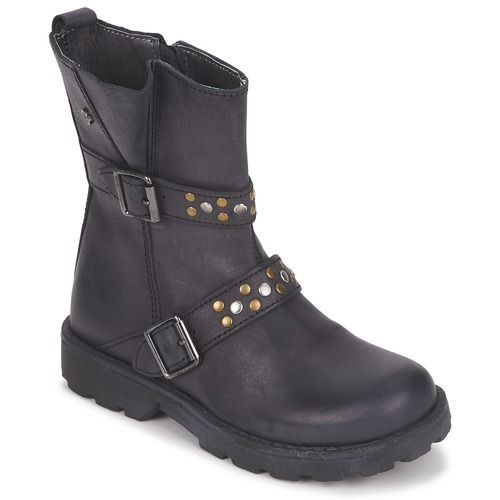 Shoes Girl Mid boots Naturino  Black