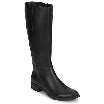 Shoes Women High boots Geox MENDI STIVALI BASIC Black