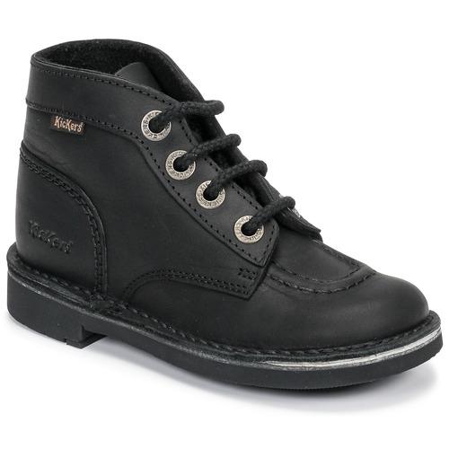 Shoes Children Mid boots Kickers KICK COL Black