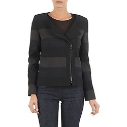 Clothing Women Jackets / Blazers Lola VIE DUP Black / Grey