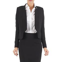 Clothing Women Jackets / Blazers Lola DOUBLE VAEL Black