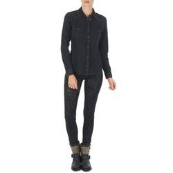 Clothing Women slim jeans Lee SCARLETT Black