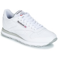Shoes Men Low top trainers Reebok Classic CLASSIC LEATHER WHITE / LIGHT GREY