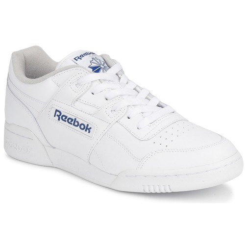 6f77aa5e214 Reebok Classic WORKOUT PLUS White - Free delivery with Spartoo UK ...