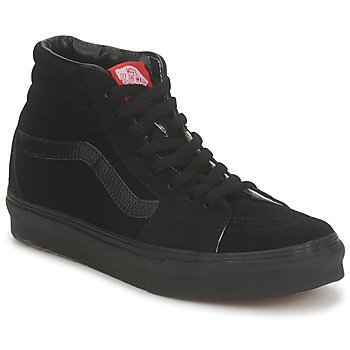 Shoes Men Hi top trainers Vans SK8 HI  black / black