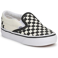 Shoes Children Slip-ons Vans CLASSIC SLIP ON KIDS Black / White