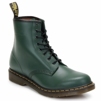 Shoes Women Ankle boots Dr Martens 1460 8 EYE BOOT Green