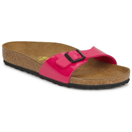 Shoes Women Mules Birkenstock MADRID Pink Patent