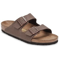Shoes Men Mules Birkenstock ARIZONA Mocca