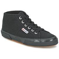 Shoes Hi top trainers Superga COTU HI Black