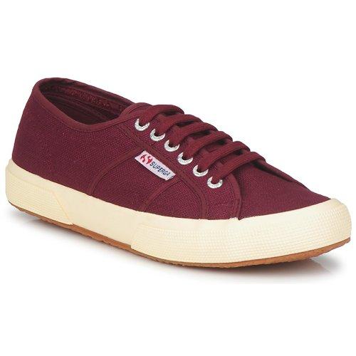 Shoes Women Low top trainers Superga 2750 COTU CLASSIC Dark / Bordeaux