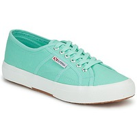 Shoes Women Low top trainers Superga 2750 COTU CLASSIC Pastel / Green
