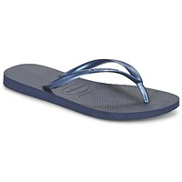Shoes Women Flip flops Havaianas SLIM Navy Blue