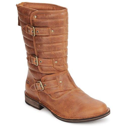Shoes Women High boots UGG TATUM Chestnut