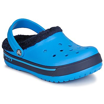 Shoes Children Mules Crocs CROCBAND WINTER KIDS Ocean / NAVY