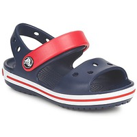 Shoes Children Sandals Crocs CROCBAND SANDAL KIDS NAVY/RED