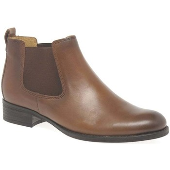 Shoes Women Mid boots Gabor Zodiac Womens Chelsea Boots brown