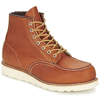 Shoes Men Mid boots Red Wing CLASSIC Original Tan
