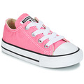 Shoes Girl Low top trainers Converse ALL STAR OX Pink