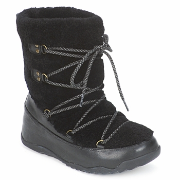 Shoes Women Snow boots FitFlop SUPERBLIZZ™ Black
