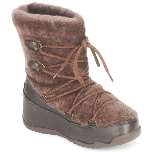 Shoes Women Snow boots FitFlop SUPERBLIZZ™ Chocolate