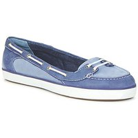 Shoes Women Boat shoes Timberland EK DEERING BOAT BALLERINA Blue