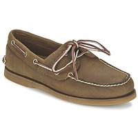 Shoes Men Boat shoes Timberland EK CLASSIC 2 EYE Gaucho Roughcut