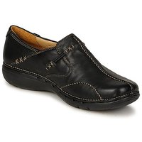Shoes Women Flat shoes Clarks UN LOOP Black