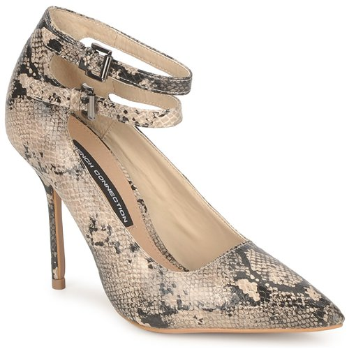 Shoes Women Heels French Connection JAMELIA Beige