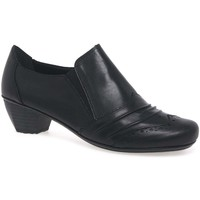 Shoes Women Heels Rieker Odyssey Womens High Cut Court Shoes black