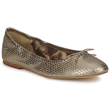 Shoes Women Flat shoes Sam Edelman FELICIA Light / Gold / Metallic / Snake