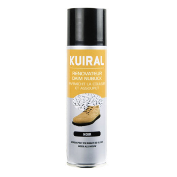 Shoe accessories Care Products Kuiral AEROSOL DAIM 250 ML Noir