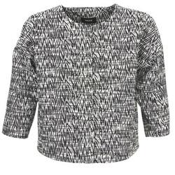 Clothing Women Jackets / Blazers Mexx MX3002331 Black / White