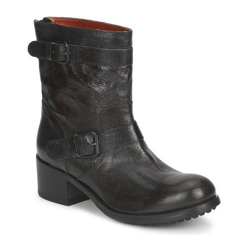 Shoes Women Mid boots Fru.it PINI Kaki