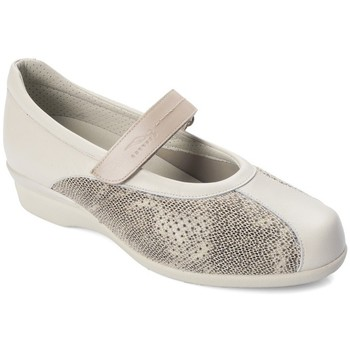 Shoes Women Flat shoes Dtorres D TORRES dancer for wide feet BEIGE