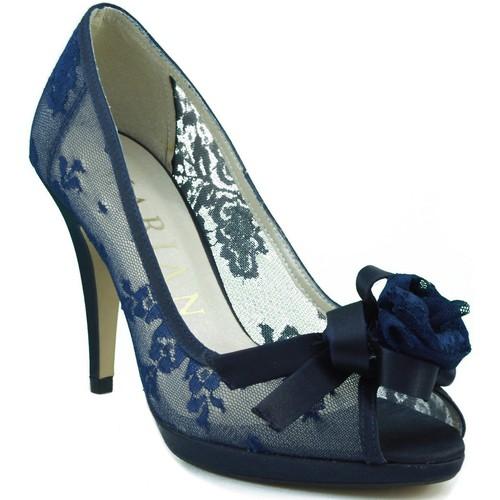 Shoes Women Heels Marian comfortable shoe transparent party BLUE