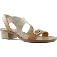 Shoes Women Sandals MTNG MUSTANG square heel sandal BROWN