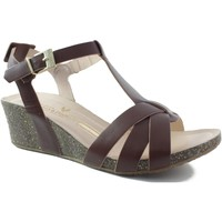 Shoes Women Sandals Martinelli RITA CUÑA BROWN
