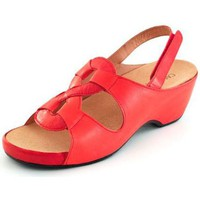 Shoes Women Sandals Calzamedi orthopedic sandal RED