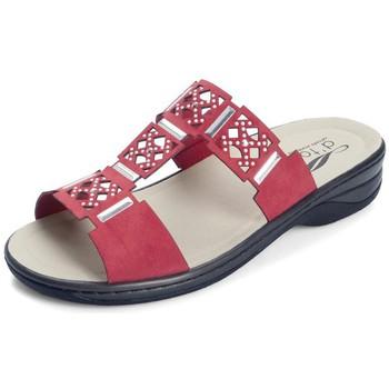 Shoes Women Mules Dtorres SANDALS SHOES D'TORRES IZAN TEMPLATES RED