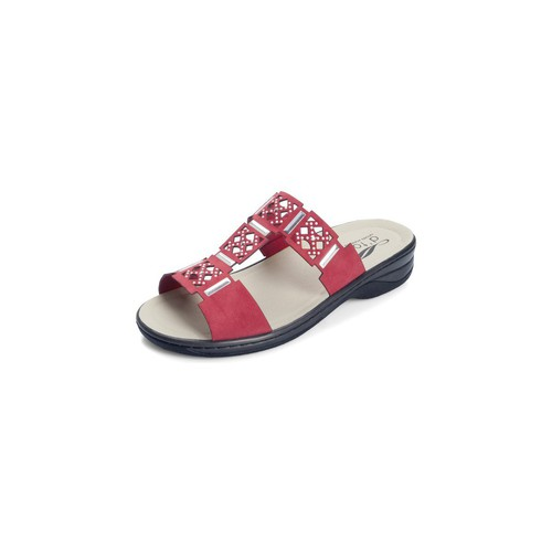 Shoes Women Mules Dtorres SANDALS SHOES D'TORRES IZAN TEMPLATES RED