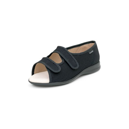 Shoes Women Sandals Calzamedi open velcro orthopedic sandal BLACK