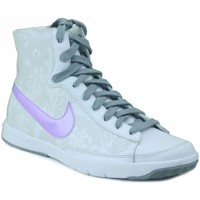 Shoes Women Hi top trainers Nike BLAZER MID W WHITE