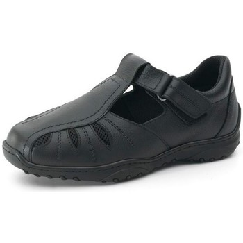 Shoes Men Derby Shoes Calzamedi COMFORTABLE AND WIDE DIABETIC MEN'S SANDAL BLACK