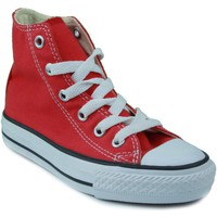 Shoes Children Hi top trainers Converse ALL STAR RED