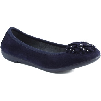 Shoes Girl Flat shoes Vulladi ballerina with rubber BLUE