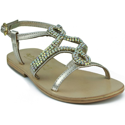 Shoes Children Sandals Oca Loca OCA LOCA STRASS GOLDEN