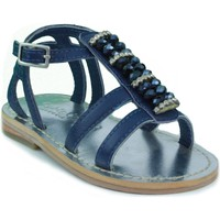 Shoes Children Sandals Oca Loca OCA LOCA STRASS BLUE